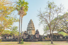 Khmer temples of Thailand in Phimai Historical Park. Stock Photo