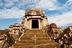 Khmet temple, Cambodia. Royalty Free Stock Photo