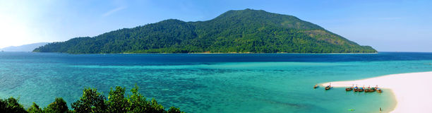 Kho Adang Insel Stockbild