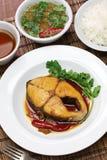 Kho de COM Ca thu, cuisine vietnamienne Photo libre de droits