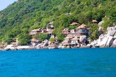 Kho Nang元酸值的陶,泰国常去之岛 库存照片