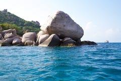 Kho Nang Juan kurort na wyspie w Koh Tao, Thailand Obrazy Royalty Free