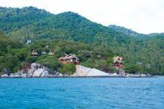 Kho Nang Juan kurort na wyspie w Koh Tao, Thailand Fotografia Stock