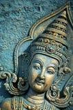 Kho phangan bangkok  incision gods of earth in green Stock Photo