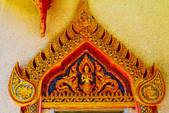 Kho samui bangkok in thailand incision of the buddha gold Stock Photos