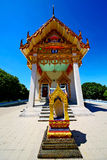 Kho samui bangkok in thailand incision of sidewalk temple Royalty Free Stock Photography