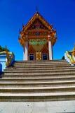Kho samui bangkok in thailand incision step. Kho samui bangkok in thailand incision of the buddha gold  temple Stock Image