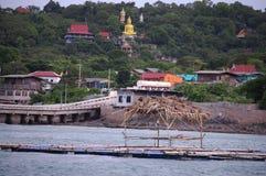 Kho SI Chang Island chez Chonburi Thaïlande Photographie stock libre de droits
