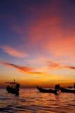 Kho tao bay coastline south china sea sunrise Royalty Free Stock Photos