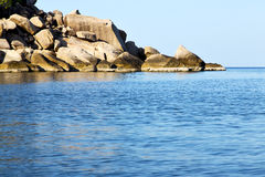 Kho tao  bay isle white  beach     south china sea thailand Stock Images
