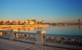 Khobar Golden sun royalty free stock photography