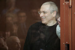 Khodorkovsky Stock Image