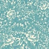 Khohloma style floral pattern. Stock Image