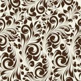 Khohloma style seamless floral pattern. Royalty Free Stock Image