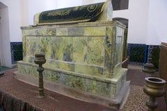 Khoja阿哈迈德Yasavi坟茔在Turkistan,哈萨克斯坦 库存图片