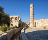 Minaret Khoja Kalon in Bukhara Royalty Free Stock Images