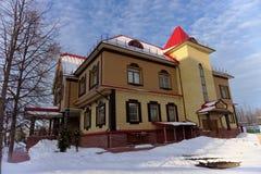 Khokhloma-Museum Stadt Semjonow Russland Stockbild