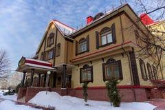 Khokhloma-Museum Stadt Semjonow Russland Stockbilder