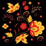 Khokhloma pattern royalty free stock images