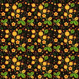 Khokhloma seamless pattern Stock Images