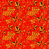 Khokhloma seamless pattern Royalty Free Stock Image