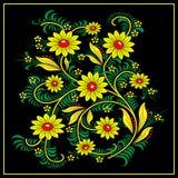 Khokhloma-style Royalty Free Stock Images