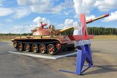 Khokhloma tank Stock Images