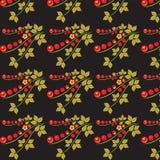 Khokhloma texture Stock Image