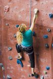Khole Rock Climbing Series A 03 Stock Images