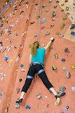 Khole Rock Climbing Series A 24 Royalty Free Stock Image