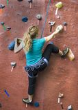 Khole Rock Climbing Series A 32 Royalty Free Stock Image