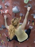 Khole Rock Climbing Series A 33 Royalty Free Stock Images