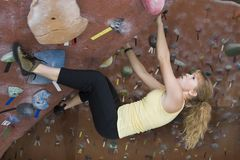 Khole Rock Climbing Series A 35 Stock Image