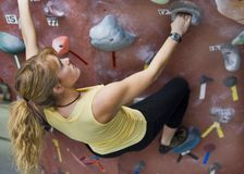 Khole Rock Climbing Series A 42 Royalty Free Stock Image