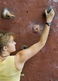 Khole Rock Climbing Series A 46 Stock Image