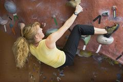 Khole Rock Climbing Series A 39 Stock Photo