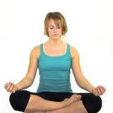 Khollie, das Yoga A02 tut Lizenzfreies Stockfoto