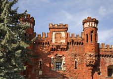 Kholm Gate of Brest-Litovsk fortres in Brest. Brest Royalty Free Stock Photo