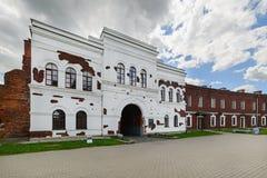 Kholm-Tor von Brest-Festung Lizenzfreie Stockfotografie