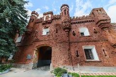 Kholm-Tor von Brest-Festung Stockfotografie