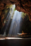 Kholuang cove. Light at kholuang cove phetchaburi Royalty Free Stock Photos