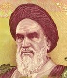 khomeini Royaltyfri Foto