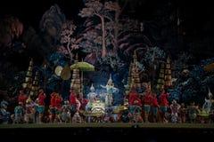 Khon, αποδόσεις χορού της Ταϊλάνδης Στοκ Φωτογραφίες