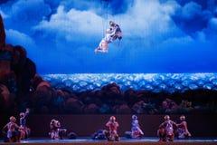 Khon, αποδόσεις χορού της Ταϊλάνδης Στοκ φωτογραφία με δικαίωμα ελεύθερης χρήσης