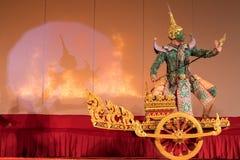 Khon, παραδοσιακό ταϊλανδικό δράμα χορού Στοκ Φωτογραφίες