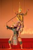 Khon, παραδοσιακό ταϊλανδικό δράμα χορού Στοκ Εικόνα