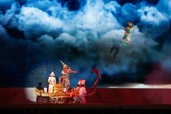 Khon, представления танца Таиланда Стоковое Изображение
