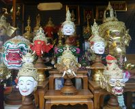 Khon actor mask Royalty Free Stock Photo