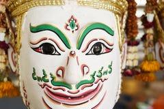 Khon, Angel mask in native Thai style Stock Image