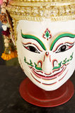 Khon, Angel mask in native Thai style Royalty Free Stock Images